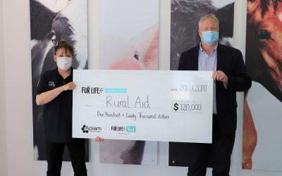 Fur Life Foundation donates $120,000 to Rural Aid